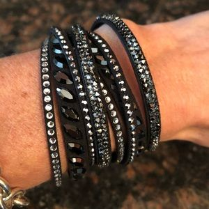 Swarovski wrap bracelet NWOT